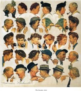 The Gossips - 1948 - Norman Rockwell