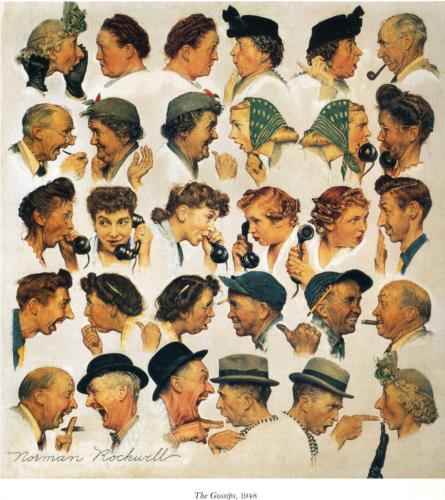 The Gossips - 1948 - Norman Rockwell