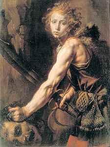 Davide e Golia - ca 1625 - Tanzio da Varallo (1575-1633)