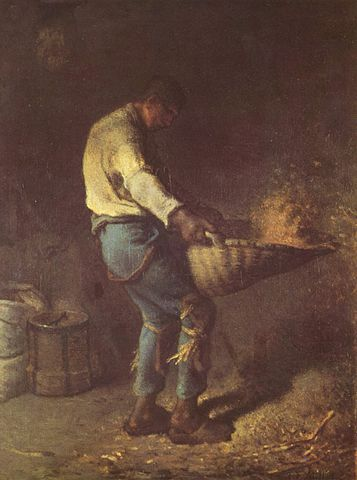 Le vanneur (The Winnower) - 1846-1847 - Jean-François Millet