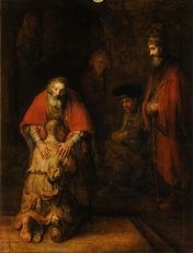 Prodigal Son illustrating God's forgiveness