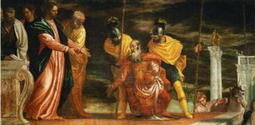 Jesus healing the servant of a Centurion - Paolo Veronese (1528–1588)