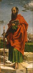 The Apostle Paul  - Bartolomeo Montagna (1450–1523)