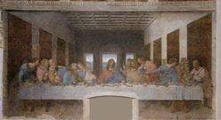 Last Supper - 1495 - Leonardo da Vinci (1452–1519)
