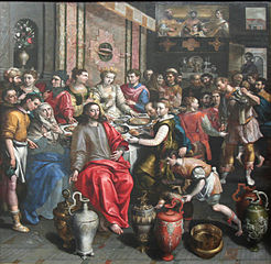 Marriage at Cana - 1596 - Marten de Vos (1532–1603)