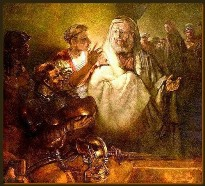Peter's Denial - 1660 - Rembrandt (1606–1669)