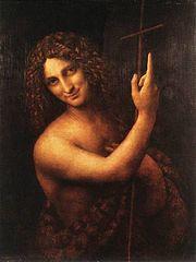 John the Baptist - Leonardo da Vinci (1452–1519)