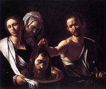 Solome with the head of John - Caravaggio (1573–1610)