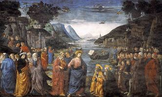 Calling of the Apostles - 1481 - Domenico Ghirlandaio (1449–1494)