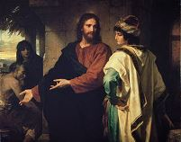Christ and the Rich Young Ruler - 1889 - Heinrich Hofmann (1824–1911)