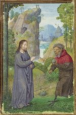 Temptation of Christ - 16th Century - Simon Bening (circa 1483/1484–1561)
