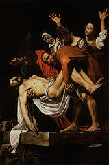 The Entombment of Christ - 1602–1603 - Caravaggio (1571-1610)