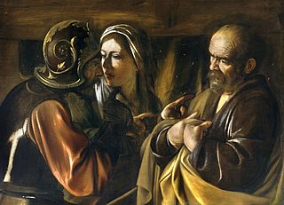 The Denial of Peter - ca 1610 - Caravaggio (1573–1610)