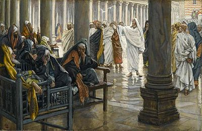 Woe unto You, Scribes and Pharisees - between 1886 and 1894 - James Tissot (1836–1902)