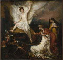 The Angel of the Lord Announcing the Resurrection - 1805 - Benjamin West (1738-1820)