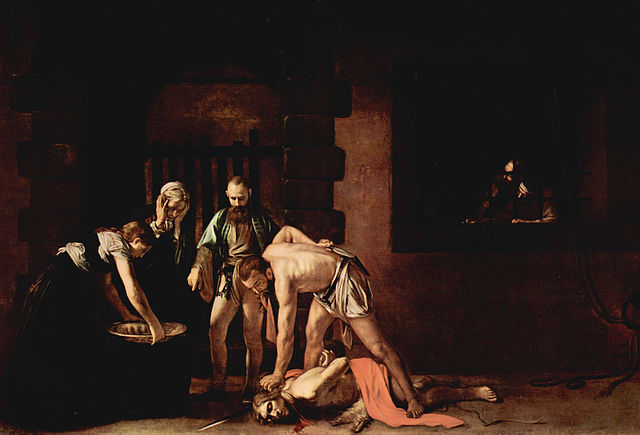 The beheading of John the Baptist - 1608 - Caravaggio (1573–1610)