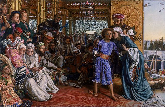 The Finding of the Saviour in the Temple - 1860 - William Holman Hunt (1827–1910)