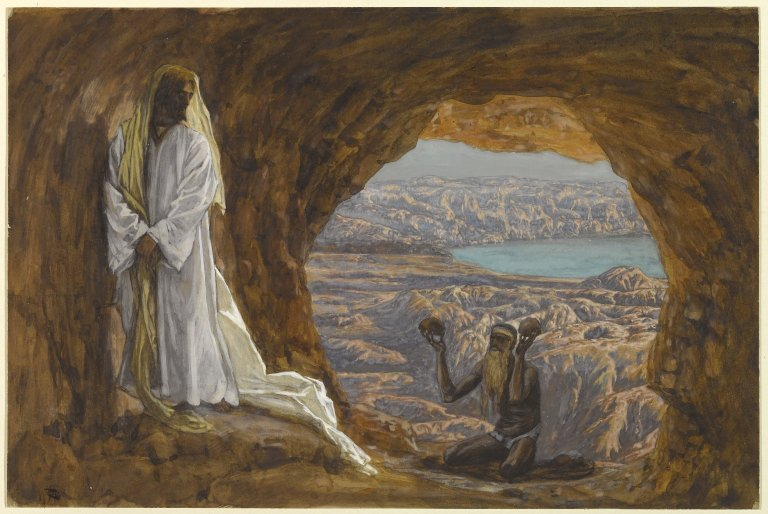 Jesus Tempted in the Wilderness - between 1886 and 1894 - James Tissot (1836–1902)
