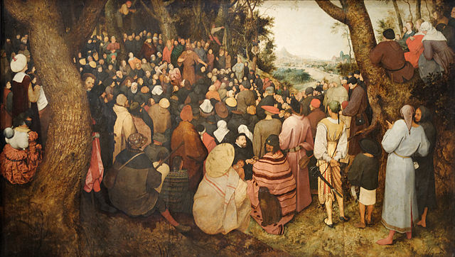 The Sermon of John the Baptist - 1566 - Pieter Brueghel the Elder (1526/1530–1569)