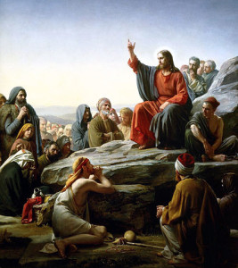 The Sermon on the Mount - Carl Heinrich Bloch (1834–1890)