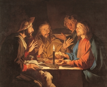 Supper at Emmaus - 17th century - Matthias Stom (fl. 1615–1649)
