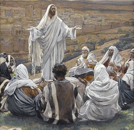 The Lord's Prayer - ca, 1890 - James Tissot (1836–1902)