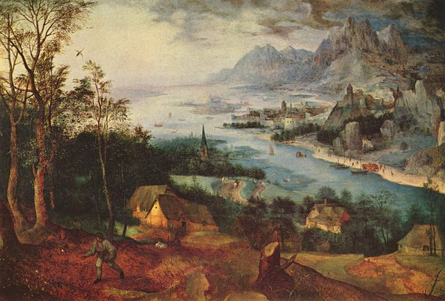 Landscape with the Parable of the Sower - 1557 - Pieter_Bruegel
